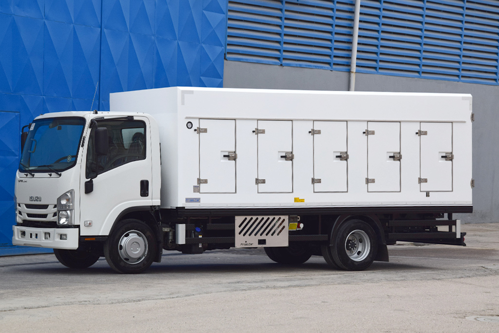 FROSTCAR FC525 EUTECTIC REFRIGERATED TRUCK BODY